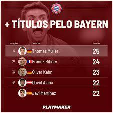 Futebol Épico - Thomas Muller fez história: conquistou o...