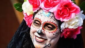 art sip catrina sugar skull face painting