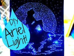 Disney Bedroom Decorations Diy The Little Mermaid Light Up Pinhole Art Room Decor I