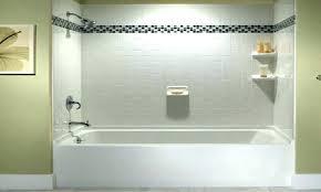 bathtub shower kit tub and surrounds accord trim kits bath wall