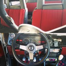 1985 toyota corolla gt-s with original red/burgundy combo interior ...