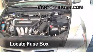 fuse box accord 2005 wiring diagram replace a fuse 2003 2007 honda accord 2005 honda accord ex 3 0l fuse box accord 2005
