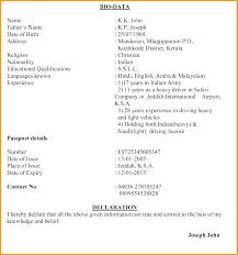 Biodata Format For Job In Word Biodata Format For Job Application In Word 2 Books Historical