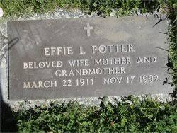 "Effie Lillian ""Sally"" Snow Potter (1911-1992) - Find A Grave Memorial"