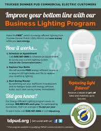 Small Business Lighting Tdpud Business Lighting Program Contractors Association Of