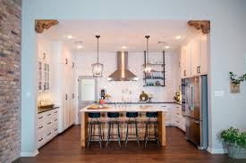 Fixer Upper Light Pendants Before And After Kitchen Photos From Hgtvs Fixer Upper