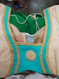 Jacket Back Neck Designs Pin By Pratibha On Blouse Designs Fashion Blouse Design