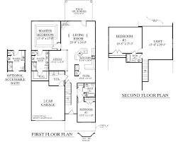 house plan 2545 englewood floor 1 2 story plans
