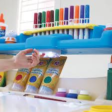deluxe art master desk kids step chair reviews push on light full size