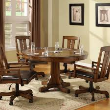 full size of dining room chair chairs upholstered kitchen with casters dinette sets table rolling oak