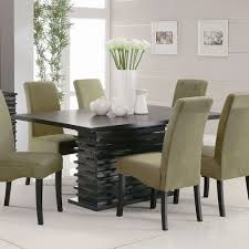 dining room modern vase white ceramic dining table centerpieces with black modern dining table and