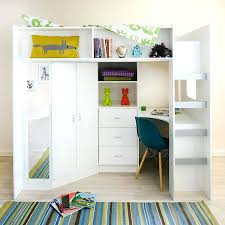 wardrobes high sleeper with wardrobe and desk high sleeper cabin bed with colour options ideal