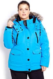 plus size parka plus size ski jackets jackets