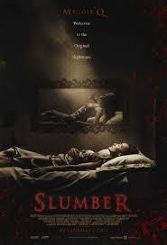 New Poster Design For Maggie Q Horror Film, SLUMBER!