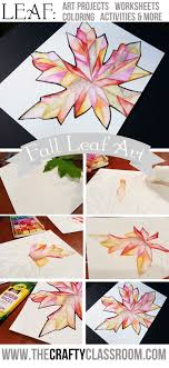 Fall Leaf Art Project. All ages, click to see what my five year old