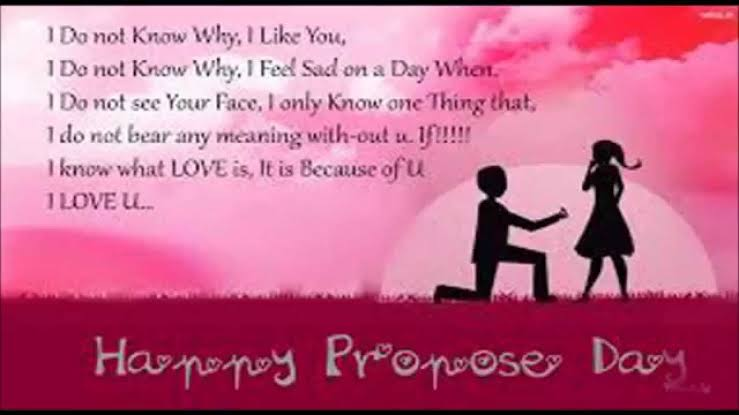 propose day messages for boyfriend