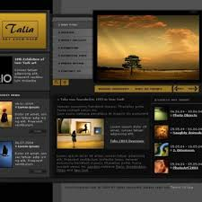 Artist Website Templates Adorable 48 Images Of Gallery Website Template Leseriail