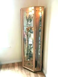 glass fronted wall cabinets antique pine cabinet in used condition bathroom