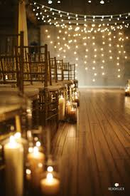 lighting decorations for weddings. Rustic Wedding Ideas - Candlelit Ceremony With Fairy Lights Lighting Decorations For Weddings A