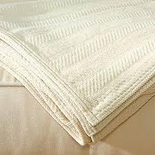 Organic Cotton Chenille Throw Blanket