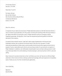 flight attendant cover letters 8 flight attendant cover letter templates sample example