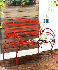 red garden bench red garden bench red metal bench medium size of metal bench benches for