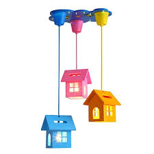 sed ceiling chandelier chandelier cartoon creative small house children room warm boys and girls bedroom beautiful