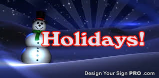Holidays Snowman Happy Holidays Swaying Snowman Design Your Sign Pro