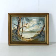 oil painting on canvas board of a landscape how to frame floater for