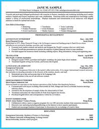 Resume Template Accounting Nice Sample For Writing An Form