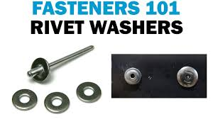 Large Washers How To Install Backup Rivet Washers Vs Large Flange Rivets