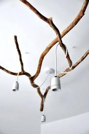 tree branch chandelier diy nature inspired tree branch chandelier diy tree branch shadow chandelier