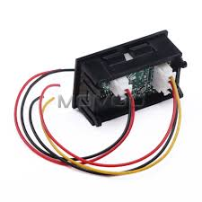 12v meter wire diagram wiring library 12 volt amp meter wiring diagram name 2in1 volt amp meter