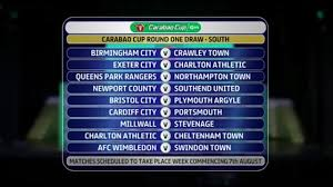 Carabao Cup draw descends into farce as Charlton get two opponents | Carabao  Cup