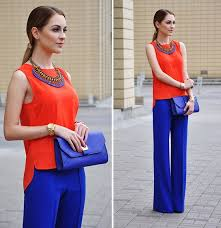 what color goes with cobalt blue (outfit ideas)