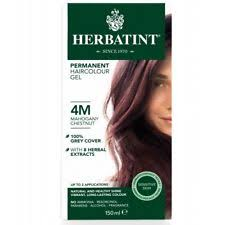 herbatint permanent haircolour gel 4m gany chestnut 150ml
