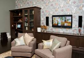 Wallpaper For Living Room Feature Wall Be Bold When Choosing Treatment For Feature Wall Toronto Star
