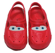 disney cars lightning mcqueen boy toddler shoes clogs size s 5 6 marvel