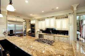 Kitchen Granite Juparana Persa Granite Backsplash Is Large Dark Tiles Set On