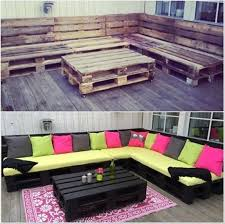 pallets furniture. VIEW IN GALLERY Pallet Lounge 50 Wonderful Furniture Ideas And  Tutorials Pallets Furniture D