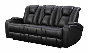 coaster delange power reclining sofa dallas tx living room sofa in black leather reclining sofa
