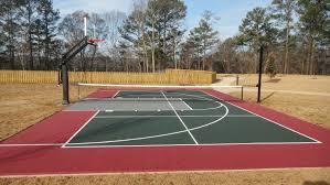 34 Spectacular Backyard Sports Court IdeasBackyard Tennis Court Cost