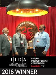 hdexpo 2016 awards best of competition best new lighting belle by fire farm