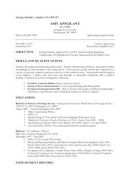 Skills And Interests Cv Examples Resume Sample Spacesheep Co