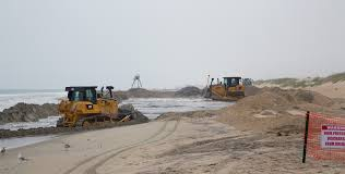$20.3 million sand project widens Outer Banks beach - The Virginian-Pilot -  The Virginian-Pilot