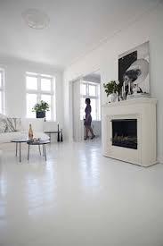 We've always loved the white painted floors ...