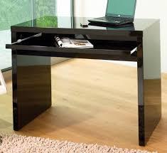 high office desk. High Gloss Computer Desk Black_main_image Office
