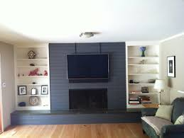 relieving grey painted brick fireplace also grey painted brick fireplace home design ideas in painting brick