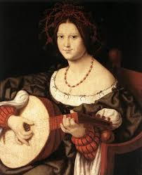andrea solario italian renaissance painter active 1495 1524 a woman with a