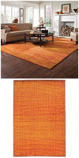 burnt orange rug. A Beautiful Burnt Orange Rug Creates Striking Statement For The Autumn Season Or All Year T